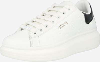 Sneaker bassa 'SALERNO' GUESS di colore oro / nero / bianco, Visualizzazione prodotti