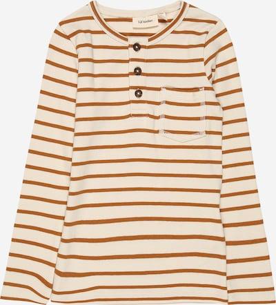 Lil ' Atelier Kids Shirt in sand / braun, Produktansicht
