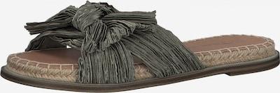 TAMARIS Pantolette in grün, Produktansicht