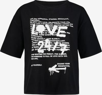 ONE MORE STORY Shirt in schwarz, Produktansicht