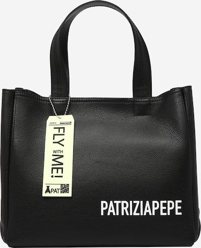 Rankinė 'BORSA' iš PATRIZIA PEPE, spalva – juoda / balta, Prekių apžvalga