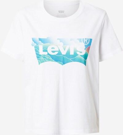 LEVI'S Tričko - tyrkysová / bílá, Produkt