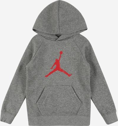 Jordan Sweatshirt in grau / rot, Produktansicht