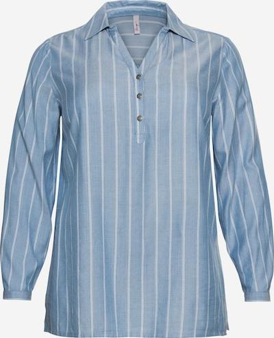 SHEEGO Tunique en bleu / blanc, Vue avec produit