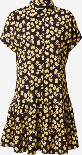 Trendyol Kleid in gelb / schwarz, Produktansicht
