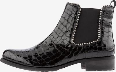 Ulla Popken Chelsea boots in de kleur Zwart, Productweergave