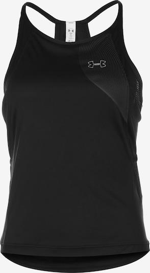 UNDER ARMOUR Haut de sport en noir, Vue avec produit