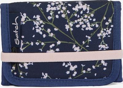 Satch Portemonnaie in blau / grün / weiß, Produktansicht