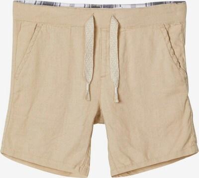 NAME IT Leinen Shorts in creme, Produktansicht