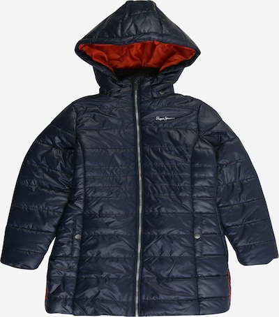Pepe Jeans Prijelazna jakna 'BEE' u tamno plava / narančasto crvena, Pregled proizvoda