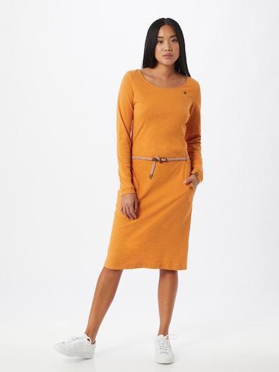 Ragwear Kleid 'TANNA' in curry, Modelansicht