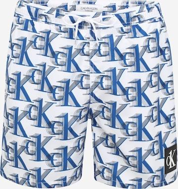 Calvin Klein Swimwear Badeshorts in Blau