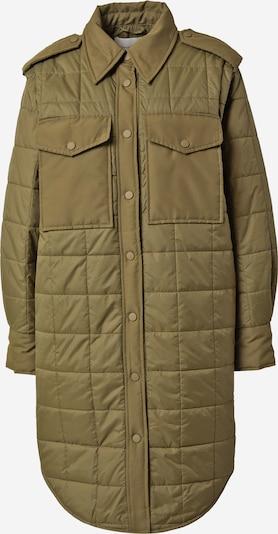Palton de primăvară-toamnă 'BELLE' Copenhagen Muse pe oliv, Vizualizare produs
