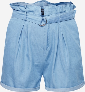 Missguided Plus Shorts in Blue
