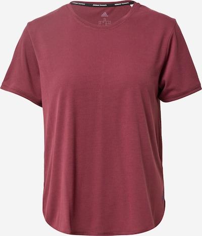 ADIDAS PERFORMANCE T-shirt fonctionnel en bordeaux, Vue avec produit