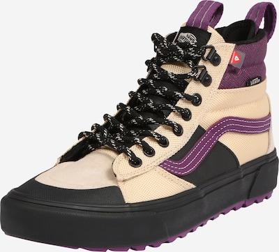VANS Sneakers hoog in de kleur Beige / Lila / Zwart, Productweergave