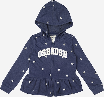 OshKosh Sweatjacke in navy / weiß, Produktansicht