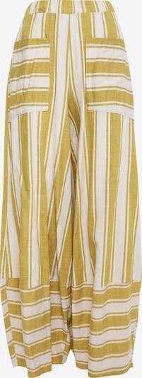Madam-T Harembroek 'CABULA' in de kleur Geel / Wit, Productweergave