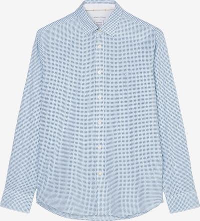 Marc O'Polo Langarm-Hemd regular ' mit graphischem Muster ' in hellblau, Produktansicht