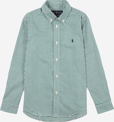 Polo Ralph Lauren Hemd in grasgrün / weiß, Produktansicht