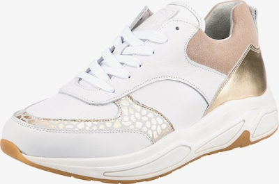 BULLBOXER Sneaker in gold / grau / puder / weiß, Produktansicht