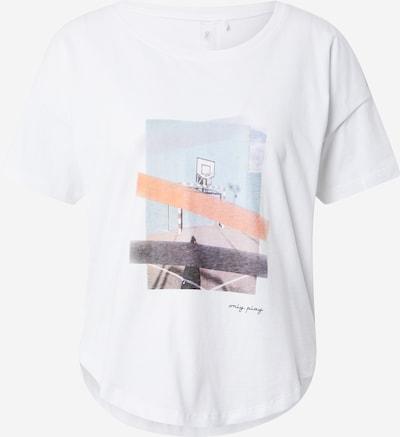 ONLY PLAY T-Shirt 'Felipa' in hellblau / greige / dunkelgrau / hellorange / weiß, Produktansicht