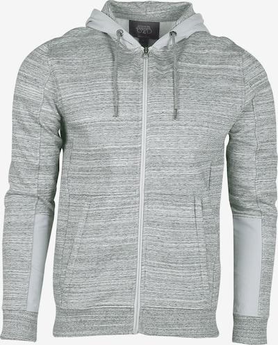 Le Temps Des Cerises Sweatjacke LETON im Streifen-Design in grau, Produktansicht