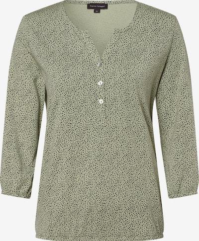 Franco Callegari Shirt in grün / schwarz, Produktansicht