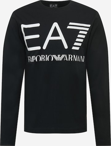 Maglietta di EA7 Emporio Armani in nero