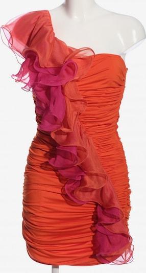 Voyelles One-Shoulder-Kleid in S in hellorange / pink / rot, Produktansicht