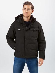 TOMMY HILFIGER zimska jakna u crnoj boji