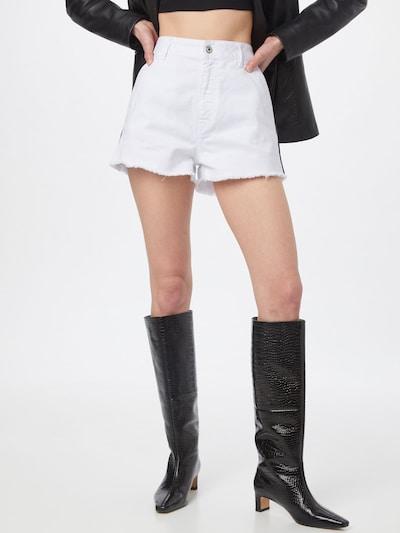 Just Cavalli Дънки в черно / бял деним, Преглед на модела