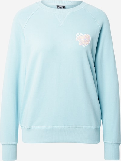 Santa Cruz Sportisks džemperis, krāsa - debeszils / pasteļdzeltens / pasteļlillā / balts, Preces skats