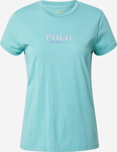 Maglietta POLO RALPH LAUREN di colore giada / lilla / rosa, Visualizzazione prodotti