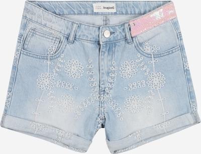 Desigual Jeans in de kleur Royal blue/koningsblauw, Productweergave