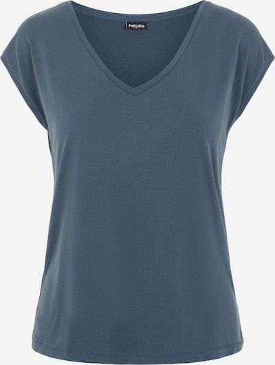 PIECES Shirt 'Kamala' in de kleur Duifblauw, Productweergave