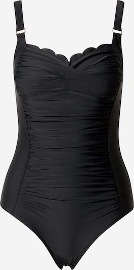 Costum de baie întreg 'Scallop' Hunkemöller pe negru, Vizualizare produs