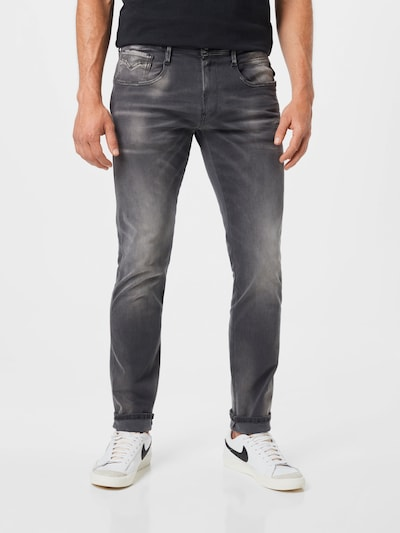 REPLAY Jeans 'ANBASS' in graphit, Modelansicht