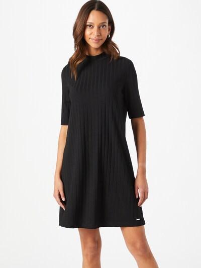 TOM TAILOR DENIM Kleid in schwarz, Modelansicht
