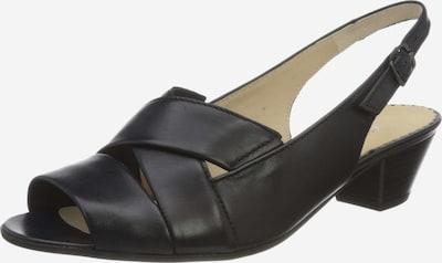 GABOR Sandalen/Sandaletten in schwarz, Produktansicht