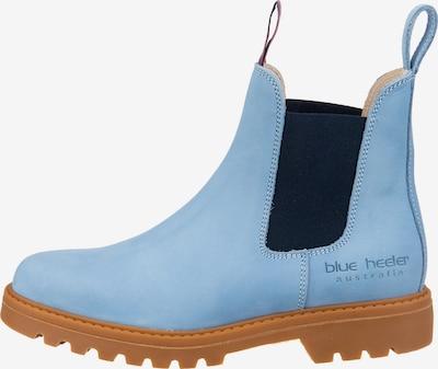 Blue Heeler Chelsea Boots in indigo, Produktansicht