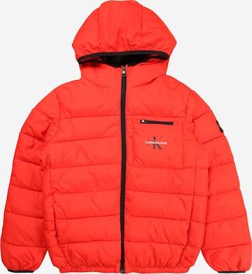 Calvin Klein Jeans Between-season jacket in Red