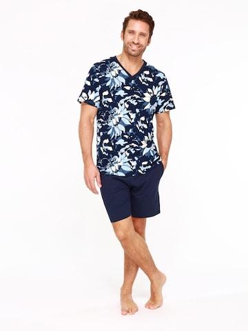 Pyjama court ' Vincent ' HOM en bleu