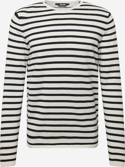 Only & Sons Pullover 'WILSON' in schwarz / weiß, Produktansicht