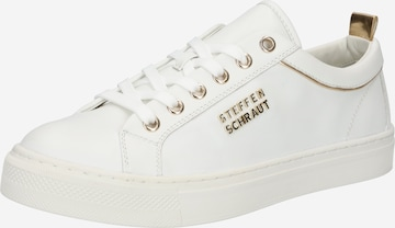 Sneaker low 'FLORENCE' de la STEFFEN SCHRAUT pe alb