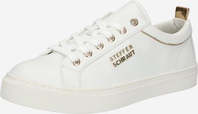 STEFFEN SCHRAUT Sneaker 'FLORENCE' in gold / weiß, Produktansicht