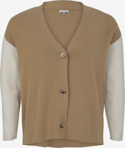 MY TRUE ME Strickjacke in beige / hellbraun, Produktansicht