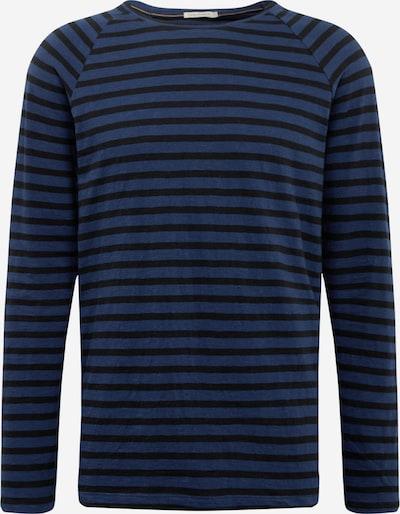 Nudie Jeans Co T-Shirt 'Otto Breton' en bleu / noir, Vue avec produit