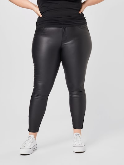 Jeans 'Karla' ONLY Carmakoma pe negru denim, Vizualizare model