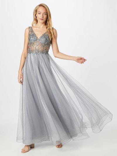 Unique Večerné šaty - modrosivá, Model/-ka